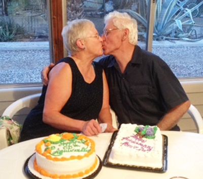 Herman and Marian celebrated their 56 Anniversary