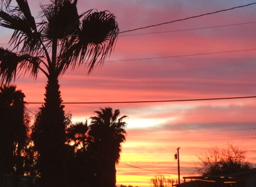 Yuma Sunset, short but sweet!