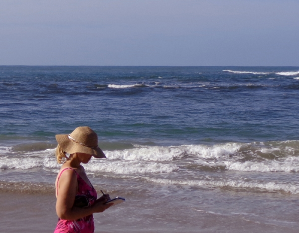 Wonderful waves of inspiration. I have developed quite a fascination with them. I think I will do a series on waves.